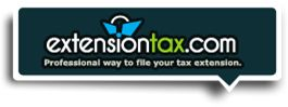 IRS Authorized e-file website for Personal Income Tax Extension Form 4868 and 2350. www.ExtensionTax.com