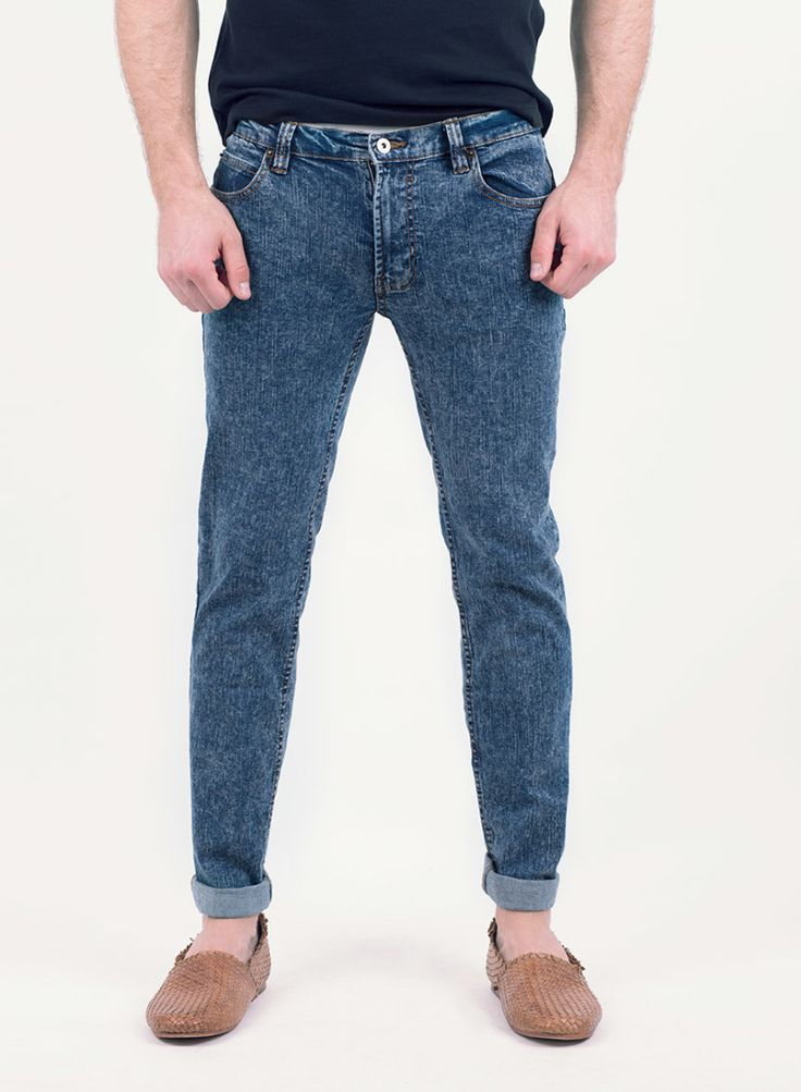Bellfield Mens Skinny Jeans