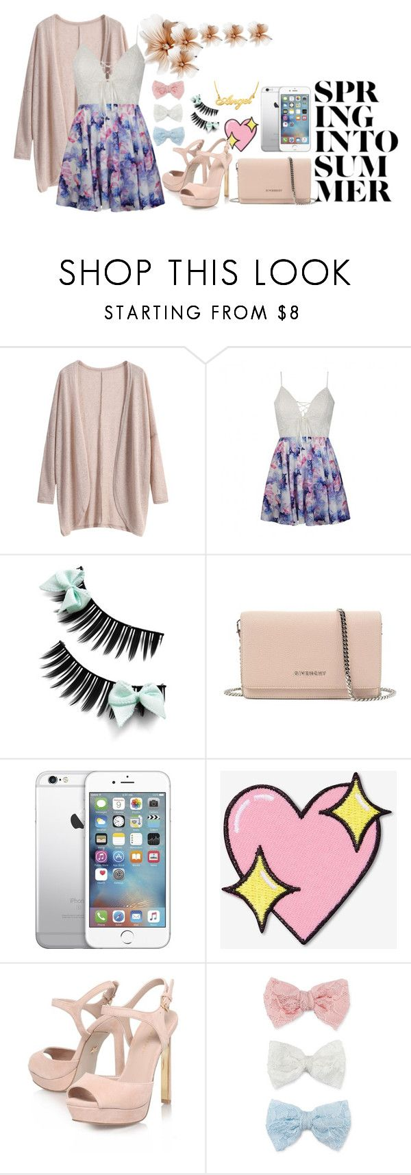 """Spring into summer"" by sofi-ju ❤ liked on Polyvore featuring Ally Fashion, Givenchy, AT&T, Big Bud Press, KG Kurt Geiger and Decree"