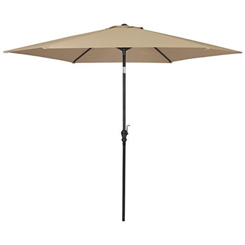 Best #Choice #Products #10 #FT #Steel #Market #Outdoor #Patio #Umbrella W/ #Crank, #Tilt #Push #Button PREMIUM MATERIAL- Water and UV resistant #umbrella is constructed with 180g polyester and a rust-free #steel frame HASSLE-FREE OPENING & #TILT ADJUSTMENT-Canopy #umbrella features a #crank handle for easy opening/closing. For optimal sun protection, there is a #tilt system adjustable with a #push #button DURABLE FRAME- Solid 6 ribs supports the large #10 #ft. #umbrella canop