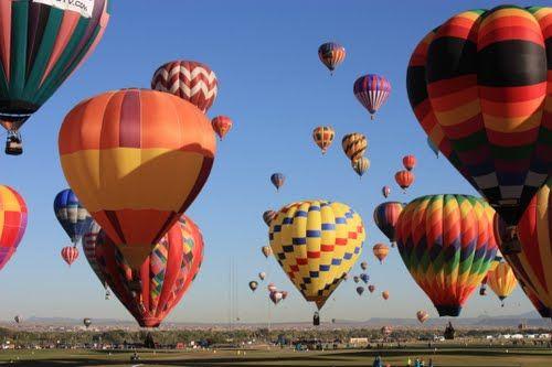 Hot Air Balloon Festival - Albuquerque  Photo by Brandon Marley