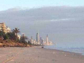 Nobby beach erosion 1 February 2013