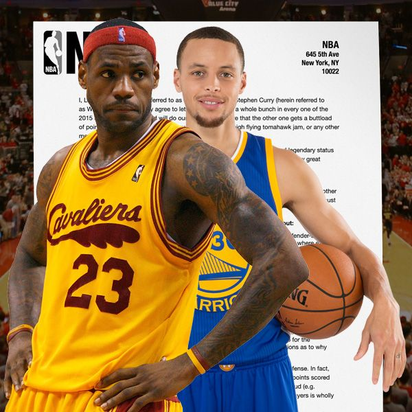 The Contract LeBron James and Steph Curry Signed Agreeing To Let Each Other Score A Whole Bunch