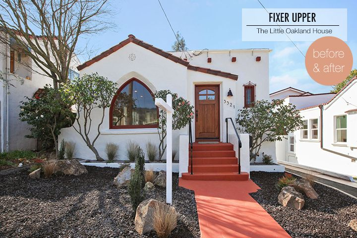 Fixer Upper: Before and After of a Spanish Style home in Oakland, CA. Designed and staged by Brett Goldstein @Decorotation