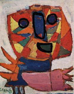 Karel Appel - Vrijheidsschreeuw, 1948