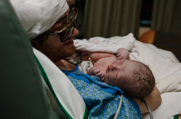 Dad With Cancer Travels From ICU To Delivery Room For Son's Birth | Huffington Post