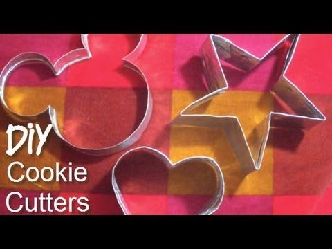 DIY - How to make a Cookie Cutter