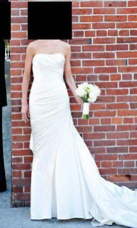 La Sposa Fanal 6: buy this dress for a fraction of the salon price on PreOwnedWeddingDresses.com #wedding #mybigday