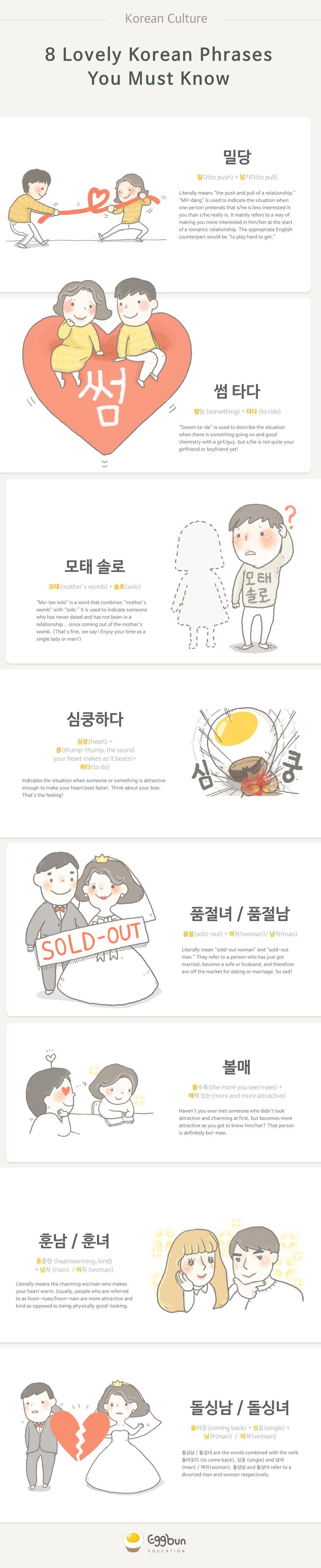 8 Lovely Korean Phrases You Must Know