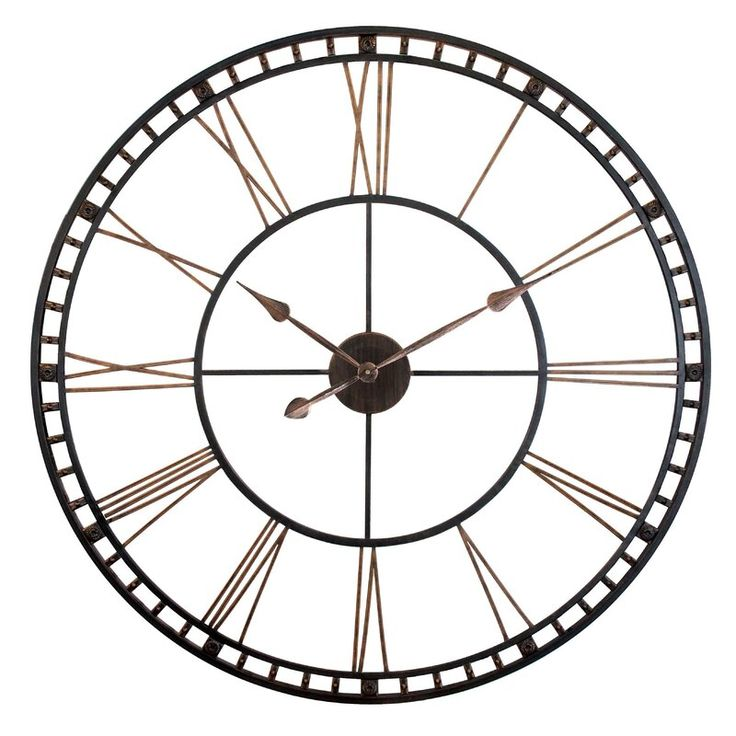 Oversized Methuen 39 Quot Wall Clock En 2020 Decoration