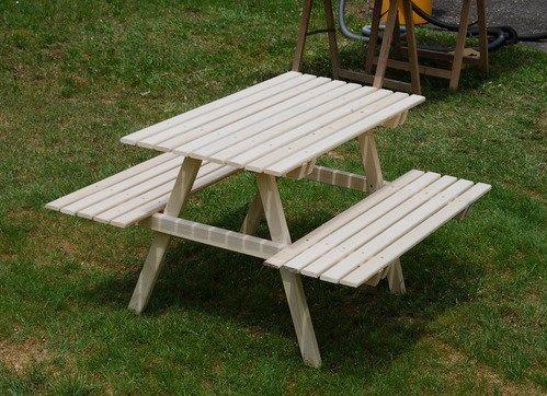 a wooden picknick seater for kids http www 1 2. Black Bedroom Furniture Sets. Home Design Ideas