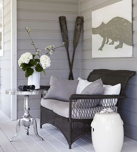 Coordinate Colors - Add decorative flair outdoors!