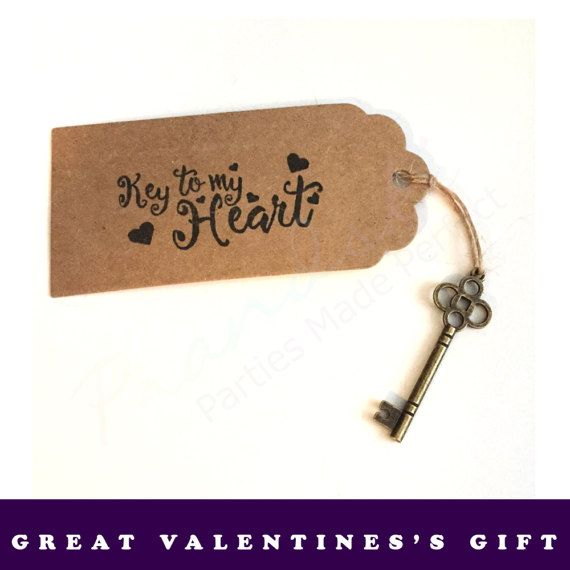 Key To My Heart Romantic Valentine's Day Gift #keytomyheart #romanticgiftideas #valentinesday #prandski