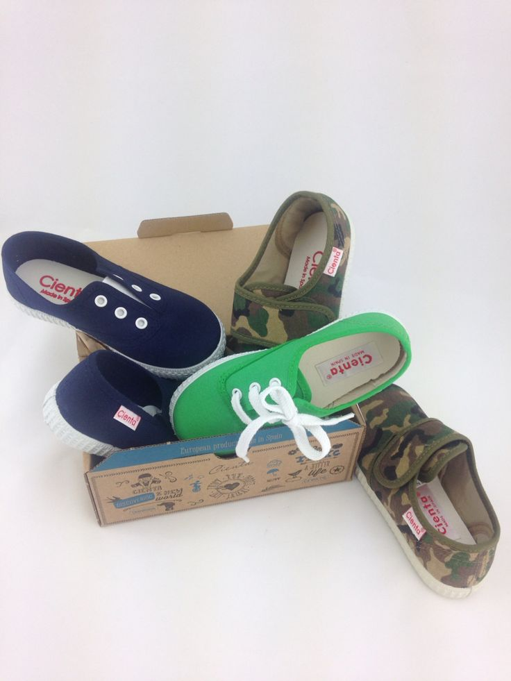 Boys canvas shoes. Great summer colours from Cienta.  Visit our website for sizes.  www.riverandsage.com.au