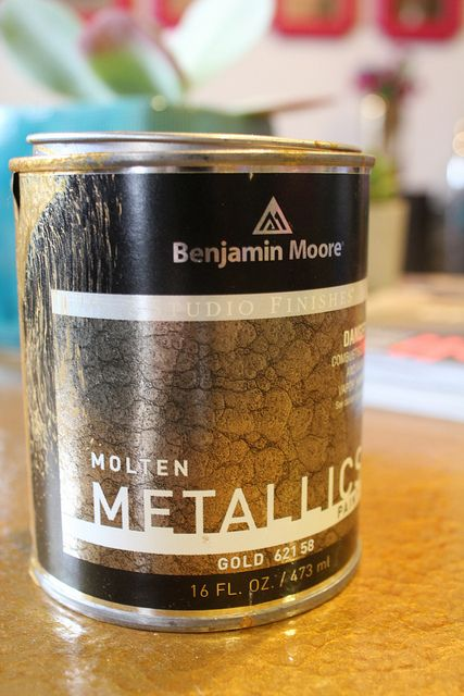 Metalic Paint From Benjamin Moore A New Product Craft
