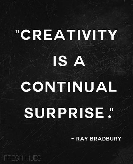 a word on creativity
