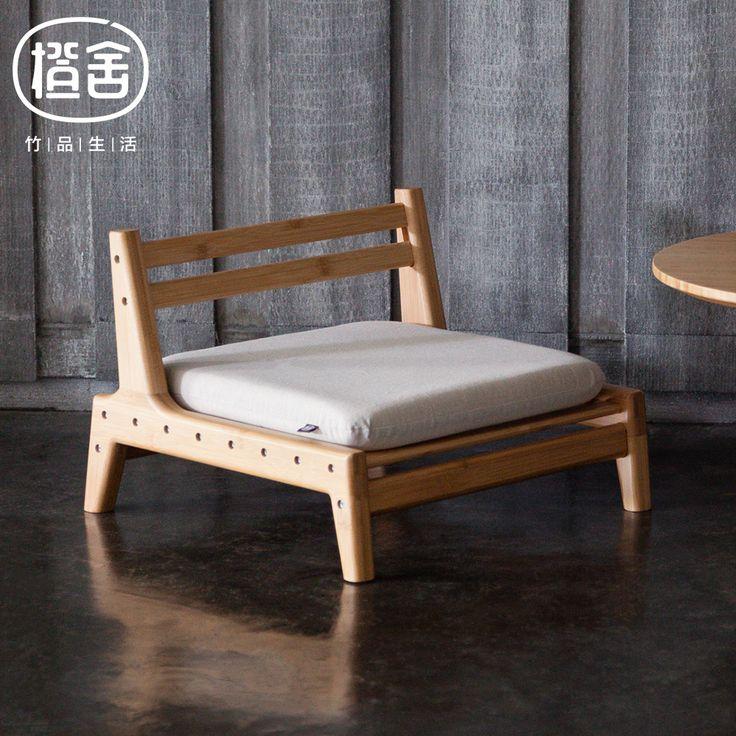 ZEN'S BAMBU kursi Tatami Gaya Jepang Bambu Kursi Kamar Tidur/ruang tamu furniture