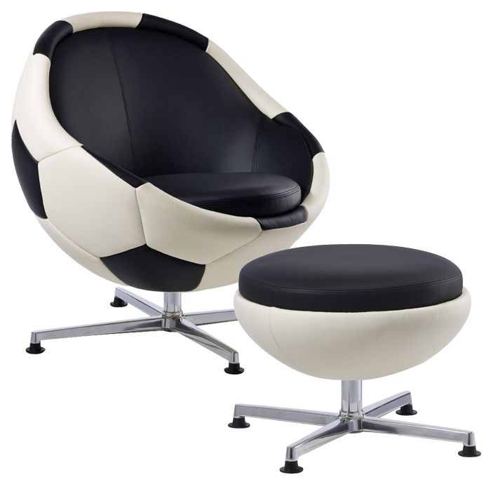 If It's Hip, It's Here: For The True Armchair Athlete. VIP Sports Lounges & Ottomans By Paolo Lillus.