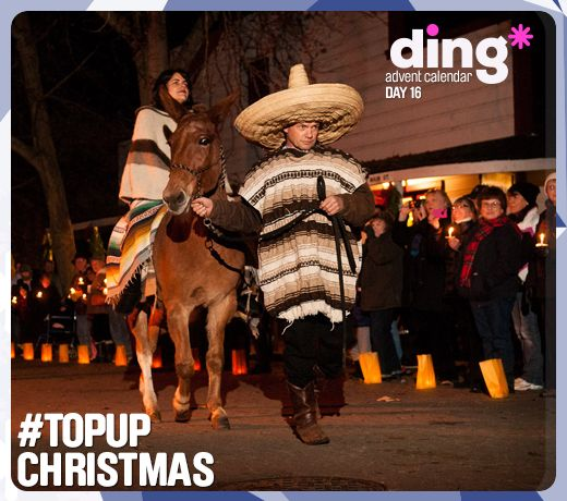 Its day 15 of our #Christmas Advent Calendar!  #dingworld - Did you know that the Las Posadas celebrations begin today in Meixco?