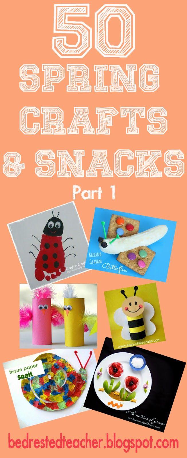 47 best spring crafts for kids images on pinterest spring