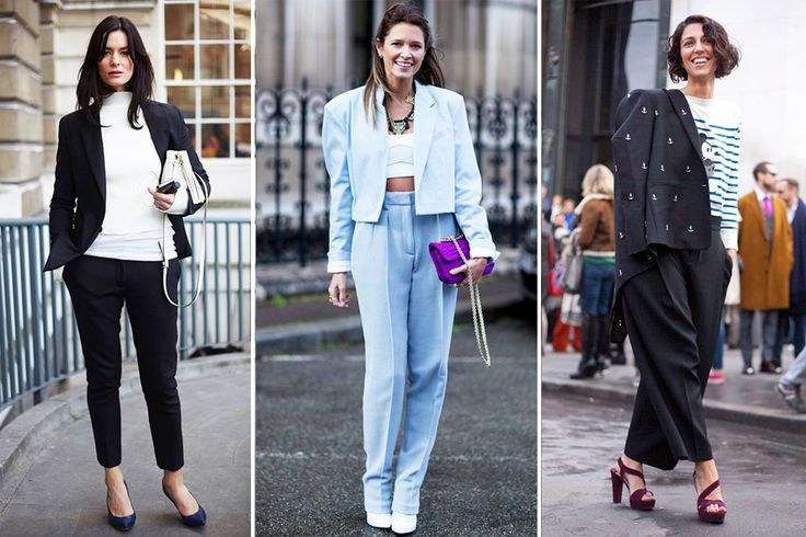 Women wearing Mens clothes