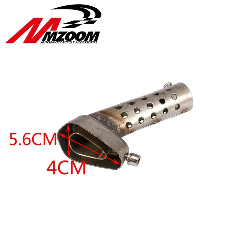 Mzoom -Free Shipping Muffler For Motorcycle Exhaust Db Killer Muffler Adjustable Exhaust Silencer