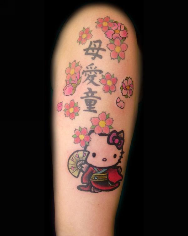 hello kitty tattoo | hello kitty tattoo by ~D3adFrog on deviantART - Anny Imagenes!