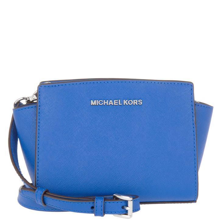 Michael Kors Selma Mini Messenger Electric Blue za 6 990 Kč | DůmKabelek.cz