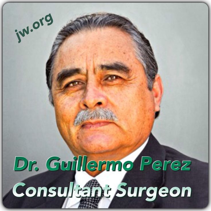 "INTERVIEW | GUILLERMO PEREZ. A Consultant Surgeon Explains His Faith. For many years, Dr. Guillermo Perez believed in evolution, but now he is convinced that our body was designed by God. What made him change his mind? To find out, please visit JW.org >> ""Publications"" >> ""Magazines"" >> Awake! May 2014. Listen, read &/or download."