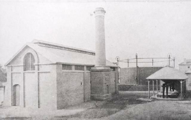 Parramatta Gasworks, about 1890, Parramatta City Council, LSOP108