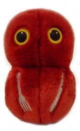 Flesh eating bacteria (Streptococcus pyogenes) plush ;)