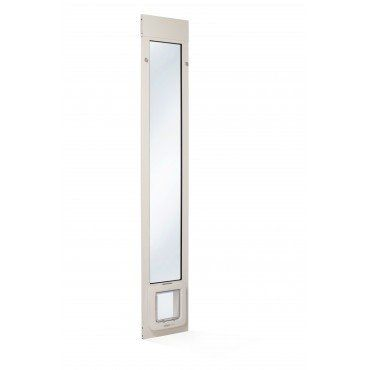 Patio Pacific Thermo Panel 2e Automatic/Electronic Cat U0026 Dog Door For  Sliding Glass Doors
