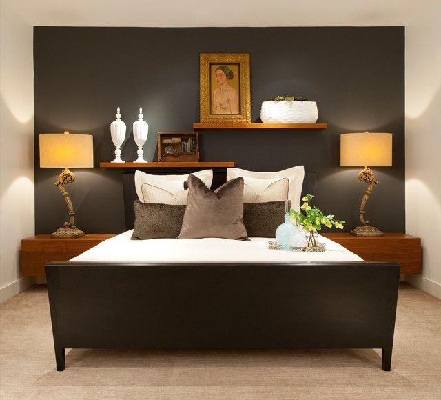 20 Adet Siyah ve Beyaz Yatak Odası Modelleri