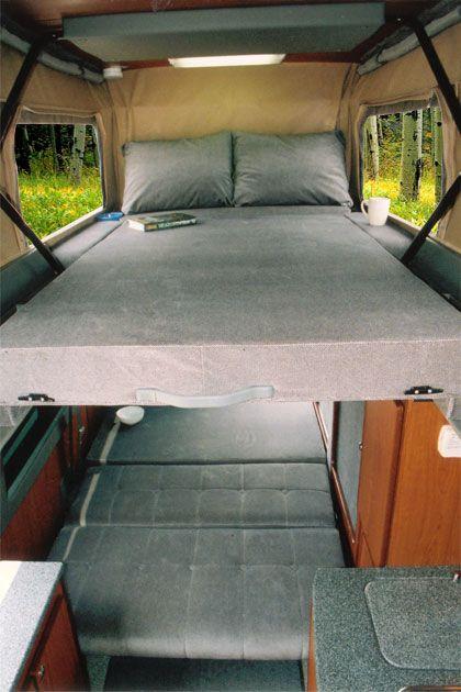 Sportsmobile Custom Camper Vans - Sprinter Penthouse Top