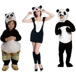 Panda Halloween CostumeBlack And White Costumes Ideas, Entire Families, Kung Fu Pandas, Pandas Halloween, White Pandas, Halloween Costumes For Teen, Pandas Costumes, Halloween Costumes Teen Girls, Families Members