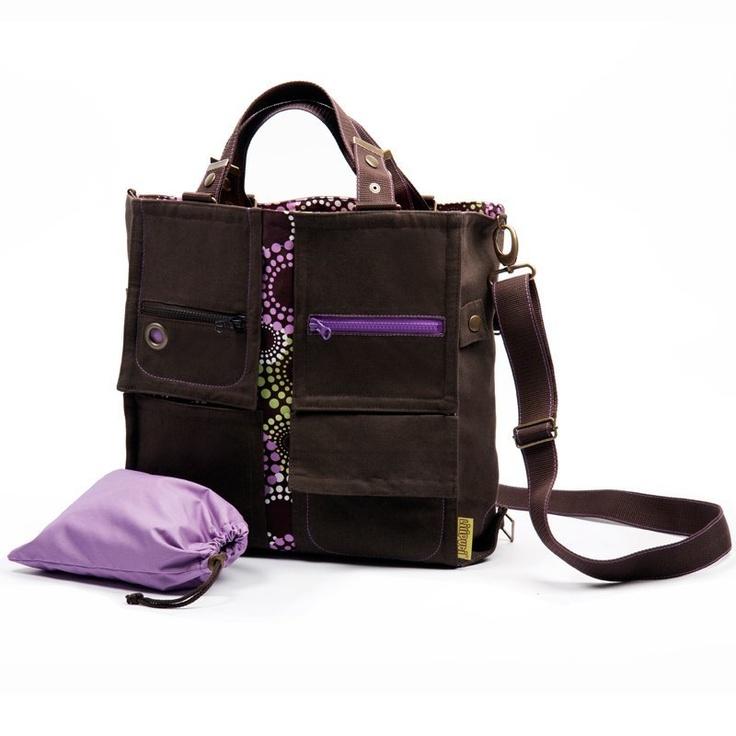Liliputi® Mama Bag Lavendering Diaper Bag - Babywearing & More! #liliputi #mamabag #diaperbag