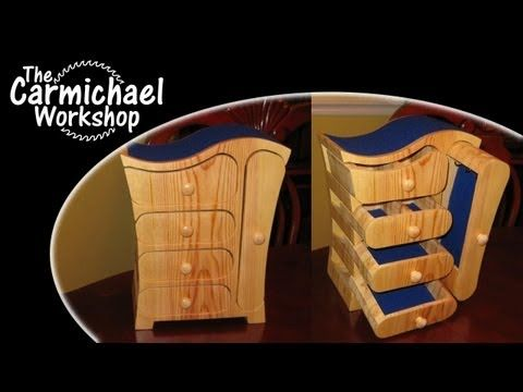 ▶ How to Make a Jewelry Box with a Bandsaw - Free Easy DIY Woodworking Project Plans - YouTube