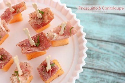 Proscuitto & Cantaloupe Appetizer @createdbydiane #food #appetizer
