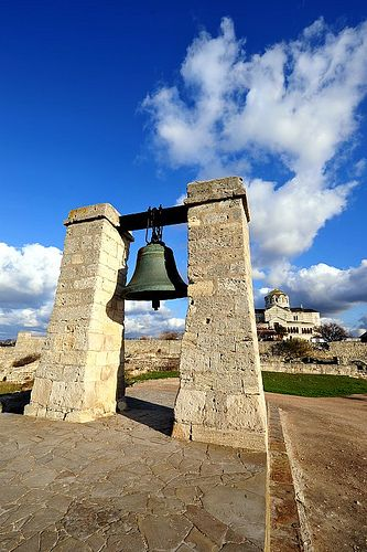 Chersonesus - Crimea - Ukraine - Make Wish at the bell, by throwing a coin inside it!