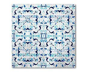 """Dekoracja ścienna """"Blue Curacao"""", 40 x 40 cm"""