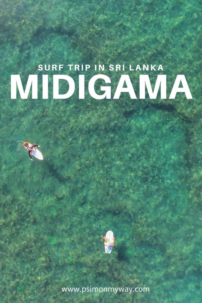 Surf and Beaches in Midigama, Sri Lanka
