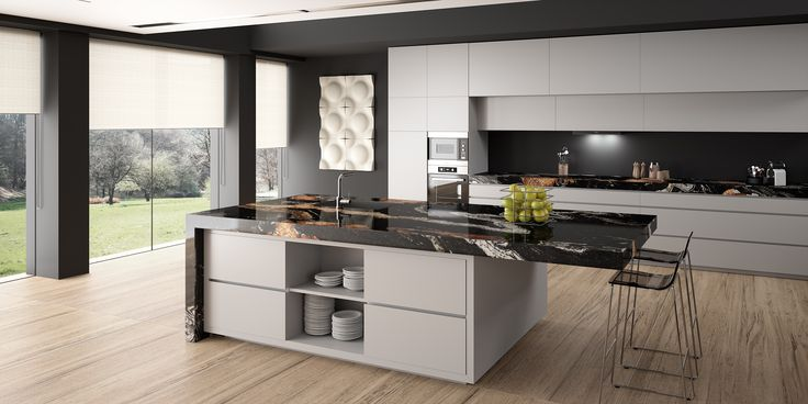 Moderne Küche Design Kochinsel Holzfront Serie Domus | Küche | Pinterest |  Architecture Interiors, Interiors And Kitchens