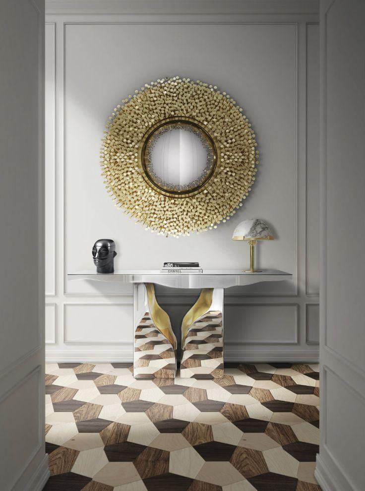50 Luxus Konsole für atemberaubende Eingangshalle – Teil I > Es ist sehr wichtig, bei der Auswahl eines solchen Stückes etwas zu beachten: das Design und die Funktion. Was für eine Luxus Konsole suchen Sie? Minimalistischer Stil oder klassischer Stil? Welche farben Mit Lagerung oder ohne? | luxus | konsole | innenarchitektur #eingangshalle #designinspirationen #interiordesign Lesen Sie weiter: http://wohn-designtrend.de/luxus-konsole-fuer-atemberaubende-eingangshalle-teil/