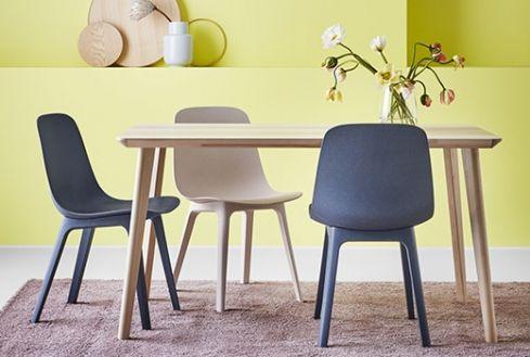 Chaise Design Chaises Salle A Manger Et Cuisine Pas Cher Ikea Ikea Throughout 20 Incroyable Photos De Chaise Cuisine Ikea