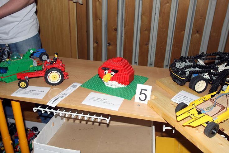 Angry Bird from Brno 2014 lego show