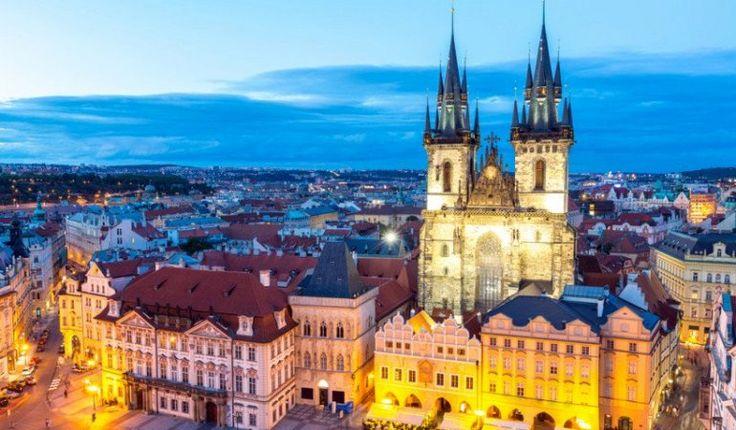 Прогулка по Праге, 18 достопримечательностей