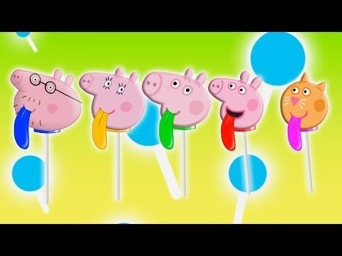 Peppa Pig Lollipop Color Tongue Finger Family | Nursery Rhymes Lyrics - RoRo Fun Channel Youtube  #Masha   #bear   #Peppa   #Peppapig   #Cry   #GardenKids   #PJ  Masks  #Catboy   #Gekko   #Owlette   #Lollipops  #MashaAndTheBear  Make sure you SUBSCRIBE Now For More Videos Updates:  https://goo.gl/tqfFEb Have Fun with made  by RoRo Fun Chanel. More    HOT CLIP: Masha And The Bear with PJ Masks Catboy Gekko Owlette Cries When Given An Injection  https://www.youtube.com/watch?v=KVEK6Qtqo9M…