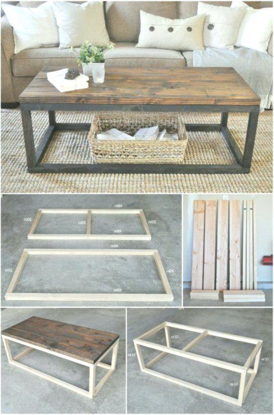 20 einfache und kostenlose Pläne zum Bau eines DIY-Couchtisches – – # Holzbearb… – Esther Spatz