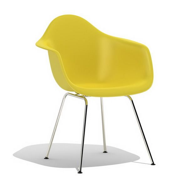 plywood ray eames dax plastic dining armchair