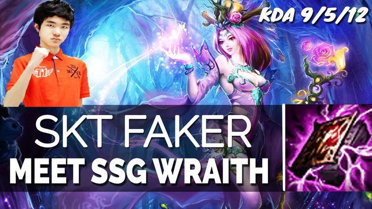 SKT T1 Faker Stream - LEBLANC VS AHRI MID Full Gameplay 6.24 Season 7   ...